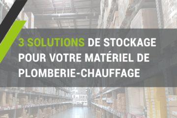 solution stockage produits/matériel