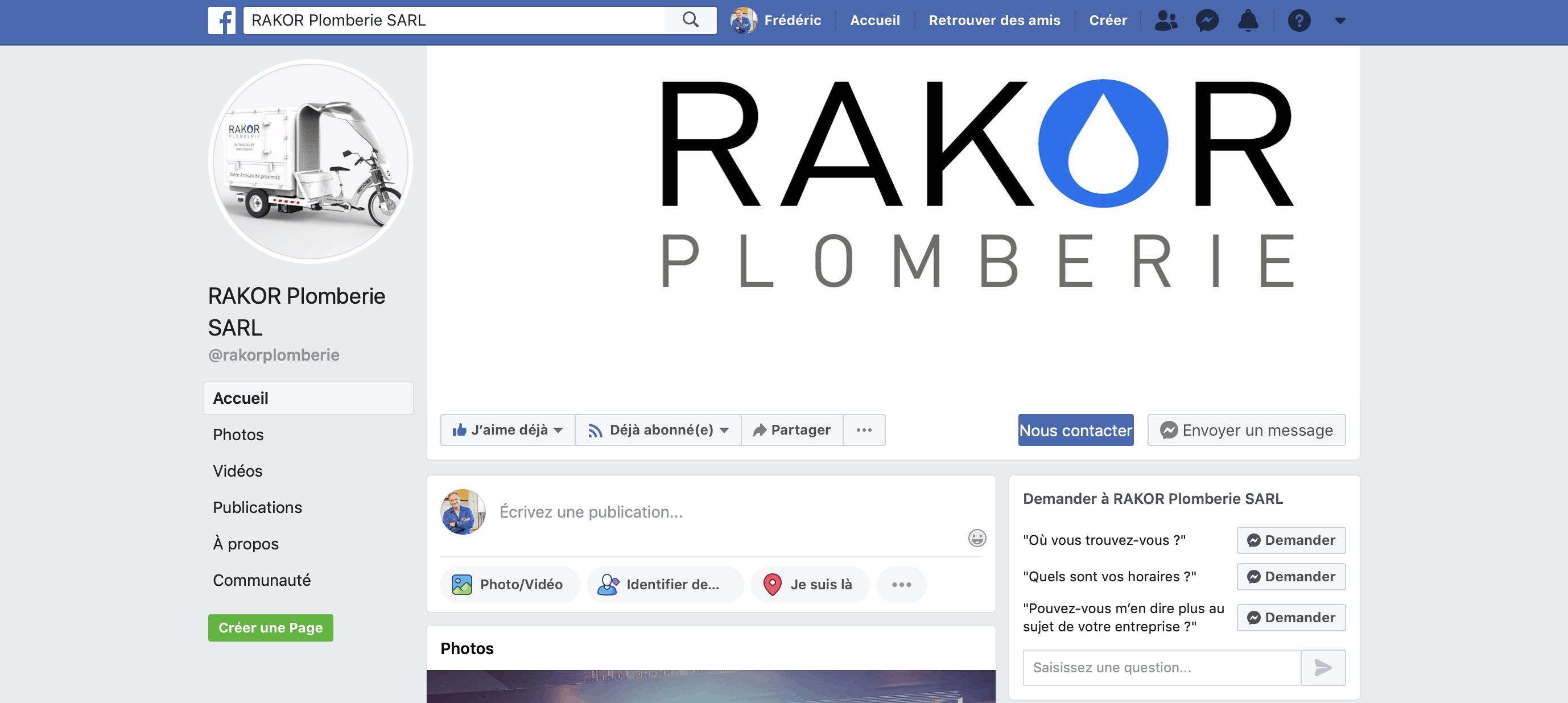 trouver des chantiers Rakor Plomberie