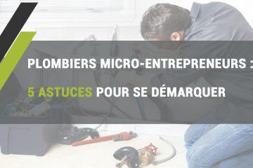 plombiers micro-entrepreneurs